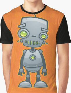 Silly Robot Graphic T-Shirt