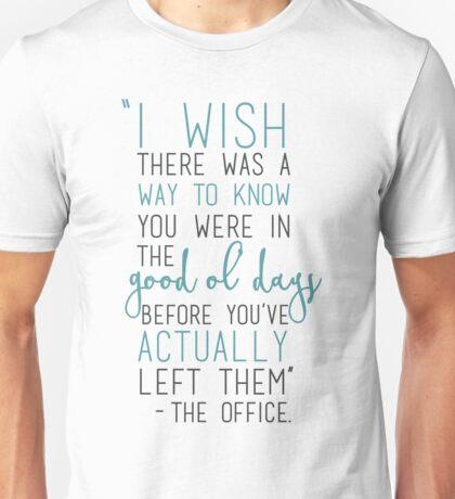 Good Ol' Days - The Office Unisex T-Shirt