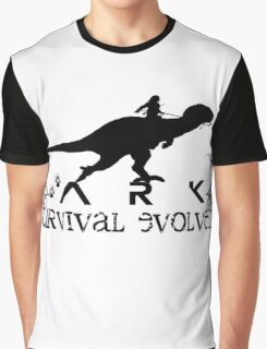 Ark Survival evolved -  Dino Rider Graphic T-Shirt