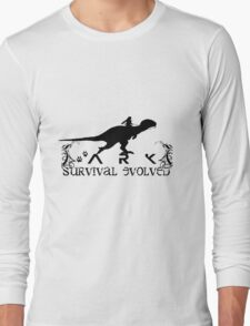 Ark Survival evolved -  Dino Rider Long Sleeve T-Shirt