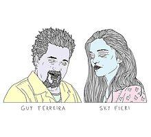 Guy Ferreira / Sky Fieri by megandoods