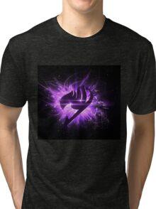 Fairy Tail natsu epic Fairy Tail Logo Epic Erza Tri-blend T-Shirt