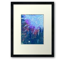 Tear In the Fabric of Time Framed Print