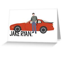 Sixteen Candles - Jake Ryan Greeting Card