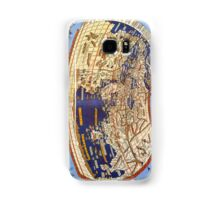 Map of the world 1492 - Claudius Ptolemy: The World Samsung Galaxy Case/Skin