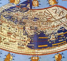 Map of the world 1492 - Claudius Ptolemy: The World by IntWanderer