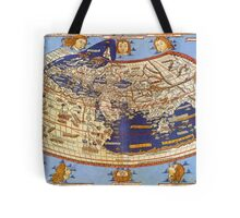 Map of the world 1492 - Claudius Ptolemy: The World Tote Bag