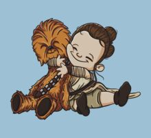 Rey & Chewie by Stephen0C