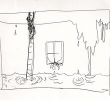 HOLDING UP THE RAIN(C2016) by Paul Romanowski