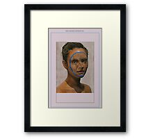 The Face of the World Framed Print
