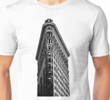 Flat Iron Building NYC Graphic Unisex T-Shirt