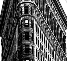 Flat Iron Building NYC Graphic Sticker