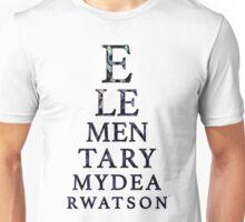 Elementary Dear Watson Unisex T-Shirt