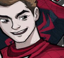The Man Behind Spider-Man Sticker