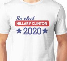 Re-Elect Hillary Clinton 2020 - Stars Unisex T-Shirt