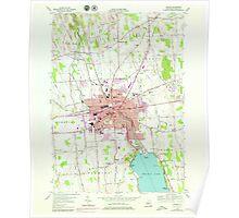 New York NY Auburn 136743 1954 24000 Poster
