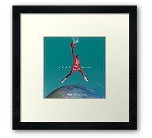 JUMPAN  Framed Print