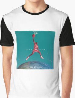 JUMPAN  Graphic T-Shirt
