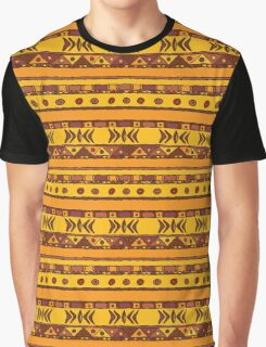 Geometric african ethnic background Graphic T-Shirt