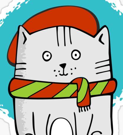 Cute Little Kitty  Sticker