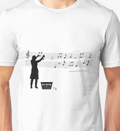 Making music Unisex T-Shirt