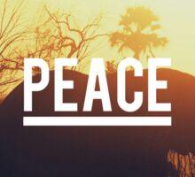 Peace elephant Sticker
