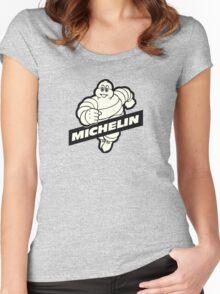 Bibendum Women's Fitted Scoop T-Shirt