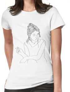 4 AM  Womens Fitted T-Shirt