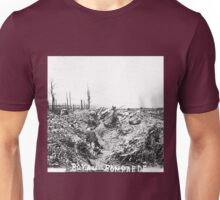 Unpublished 08 (n&b)(t)  1915 (on the front photographs ever published 1914-1918 war photos and Tribute to my 2 great Uncles Clerté-Fayolle died in 1915  Unisex T-Shirt
