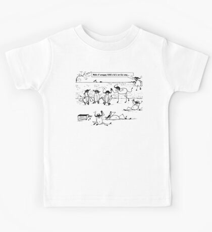 Zoo Humour - Cartoon 0009 Kids Tee