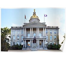 New Hampshire State House Poster