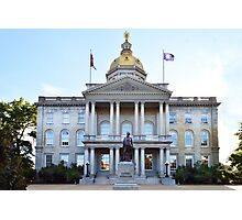 New Hampshire State House Photographic Print