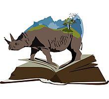Extinct Rhinos Photographic Print