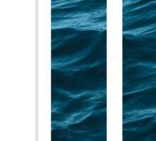 """The Letter """"J"""" Ocean Sticker"""