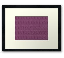 3D Steroeogram - The boxers Framed Print