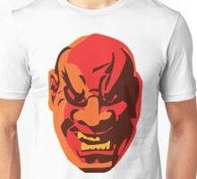 Scary Japanese Mask Unisex T-Shirt
