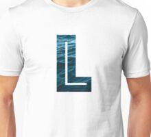 "The Letter ""L"" Ocean Unisex T-Shirt"