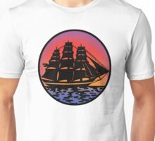 Pirate Ship - Color Unisex T-Shirt