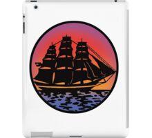 Pirate Ship - Color iPad Case/Skin