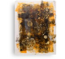 Random Gold Canvas Print