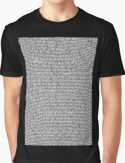 Bee Script Black Graphic T-Shirt