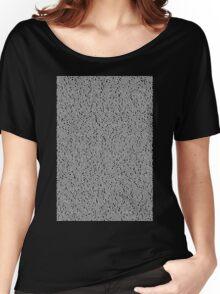 Bee Script Black Women's Relaxed Fit T-Shirt