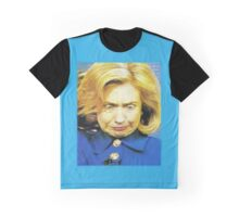 Hillary Monster Face Graphic T-Shirt