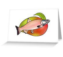 Mango & Fish Greeting Card