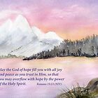 Hope- Romans 15:13 by Diane Hall