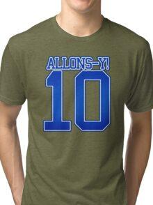 Allons-Y 10 Tri-blend T-Shirt