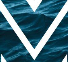 """The Letter """"M"""" Ocean Sticker"""