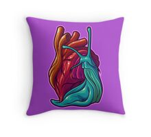 Cardio Gastropod Throw Pillow