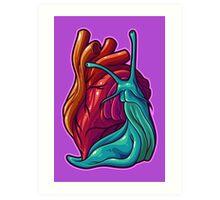 Cardio Gastropod Art Print