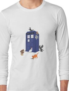 Doctor Who: Cats Long Sleeve T-Shirt
